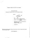 Ecological Studies of the Wolf on Isle Royale, 1971-1972